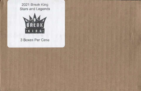 2021 Break King Stars & Legends Multi-Sport, 3 Box Case