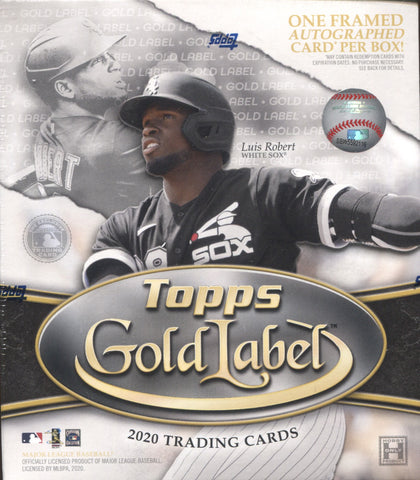2020 Topps Gold Label Hobby Baseball, Box
