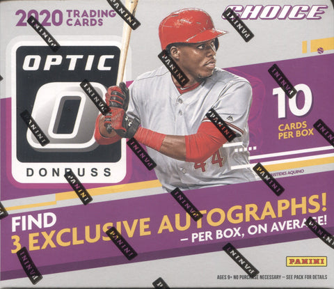 2020 Panini Optic Choice Hobby Baseball, Box