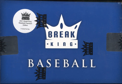 2021 Break King Premium Baseball, Box