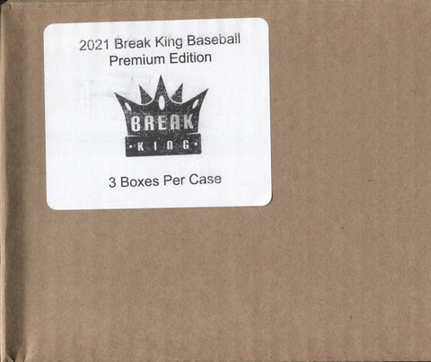 2021 Break King Premium Baseball, Case