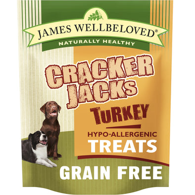 Crackerjacks Dog Treats Grain Free Turkey & Vegetables - 6 Pack