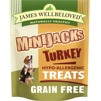Minijacks Dog Treats Turkey & Vegetables - 10 Pack