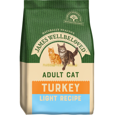 Light Adult Turkey & Rice Dry Cat Food