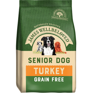 Grain Free Senior Turkey & Veg Dry Dog Food