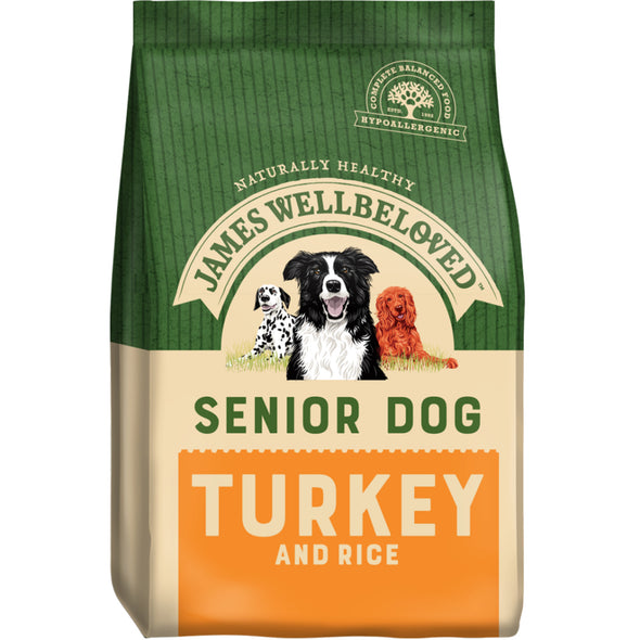 Senior Turkey & Rice Dry Dog Food