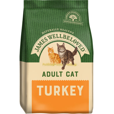 Adult Turkey & Rice Dry Cat Food