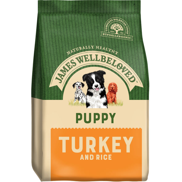 Puppy Turkey & Rice Dry Dog Food