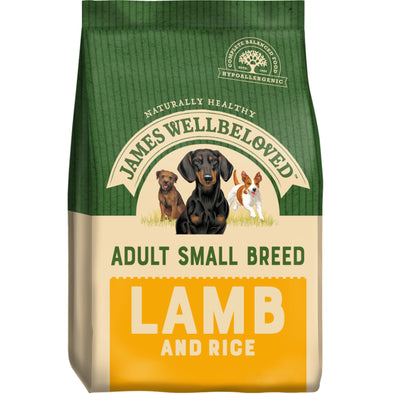 Adult Small Breed Lamb & Rice Dry Dog Food