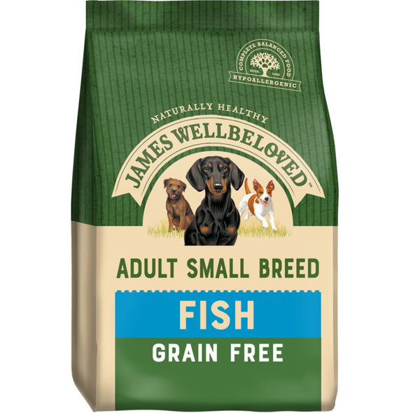 Grain Free Adult Small Breed Fish & Veg Dry Dog Food