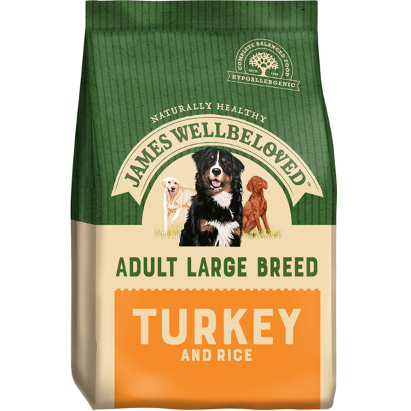 Adult Large Breed Turkey & Rice Dry Dog Food