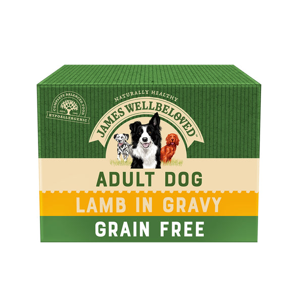 Grain Free Adult Lamb in Gravy Wet Dog Food Pouch