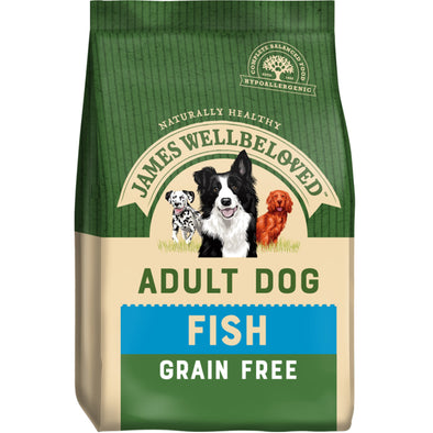 Grain Free Adult Fish & Veg Dry Dog Food