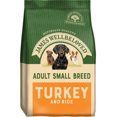 Adult Small Breed Turkey & Rice Dry Dog Food