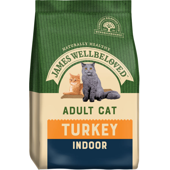 Indoor Adult Turkey & Rice Dry Cat Food