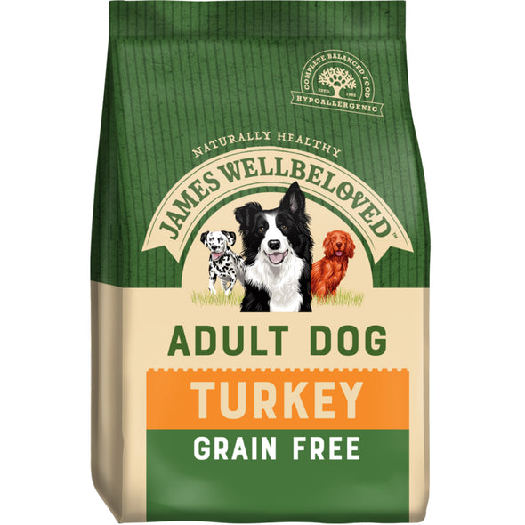 Grain Free Adult Turkey & Veg Dry Dog Food