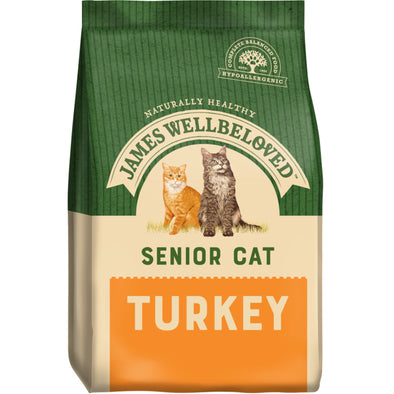 Senior Turkey & Rice Dry Cat Food