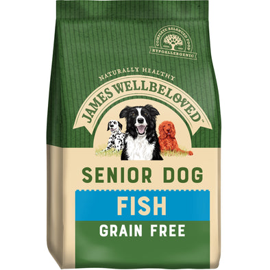 Grain Free Senior Fish & Veg Dry Dog Food