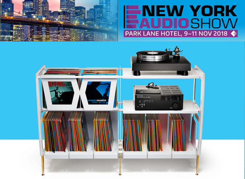 Wax Rax debuts new vinyl storage designs at New York Audio Show