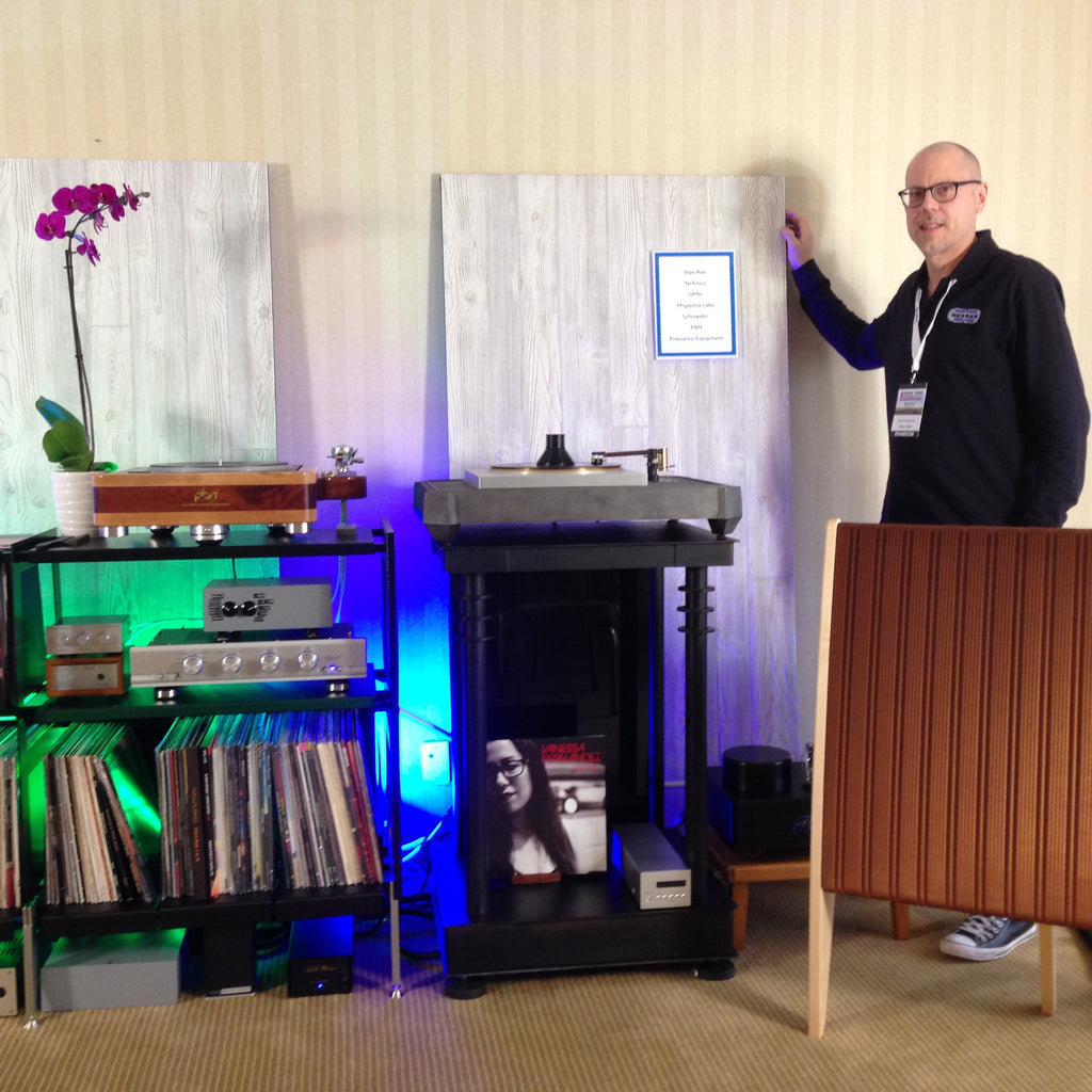 Wax Rax provides vinyl record style at The New York Audio Show