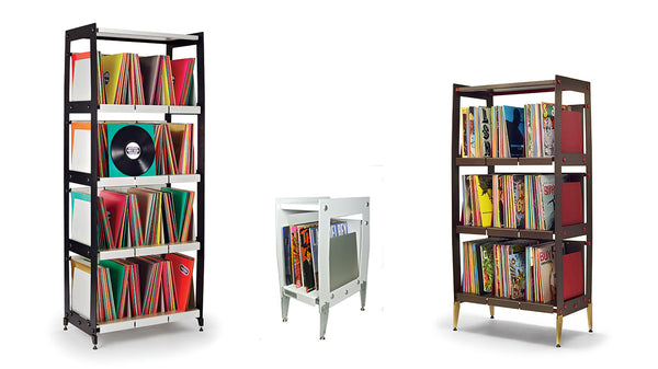 Vinyl LP Shelving Towers