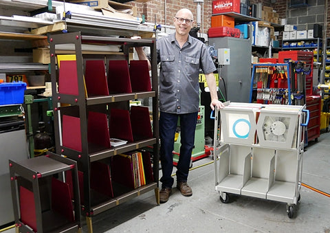 Wax Rax makes the best vinyl record storage and accessories in New York City.