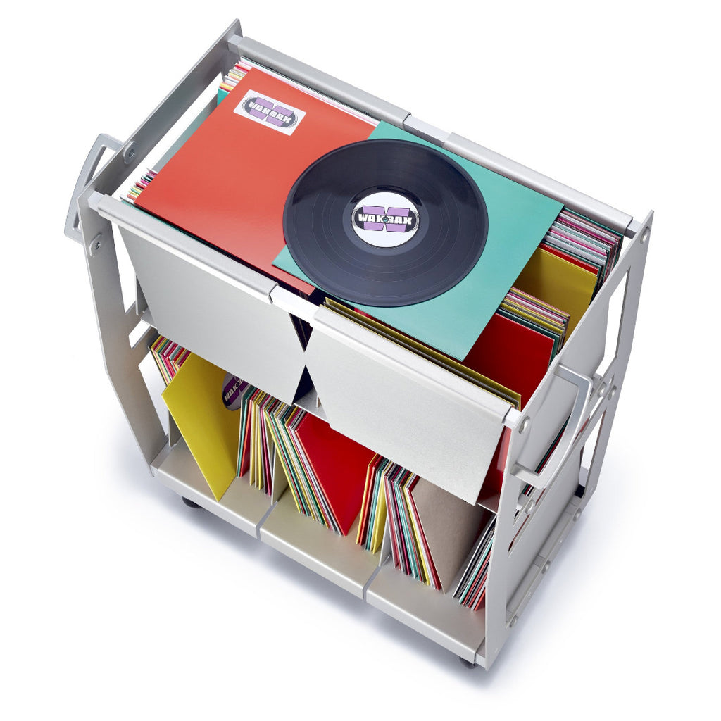 Roll your vinyl record collection with Wax Rax.