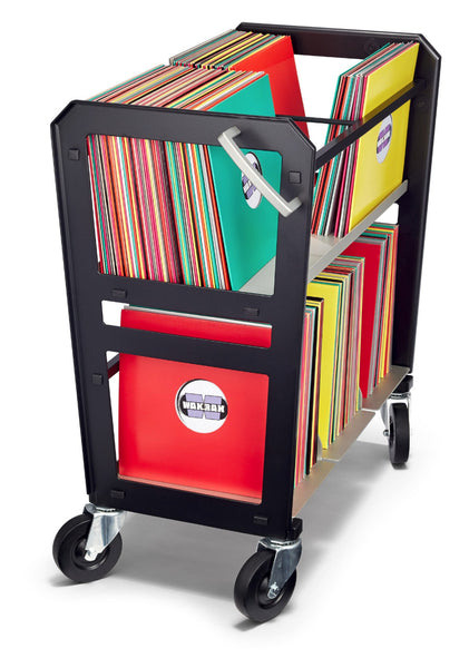 RC-2 vinyl LP cart roll your records to the turntable.