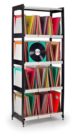 LP-V4 Vinyl Record Shelving Four Tier Tower