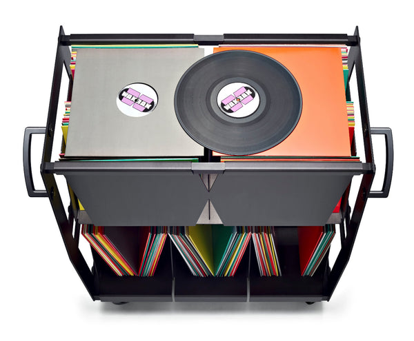 Rolling vinyl records to the turntable in style since 2014 Wax Rax makes the worlds finest LP carts.