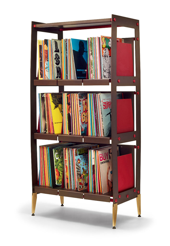 Tower of vinyl storage style for your record collection is the LPV3 by Wax Rax.
