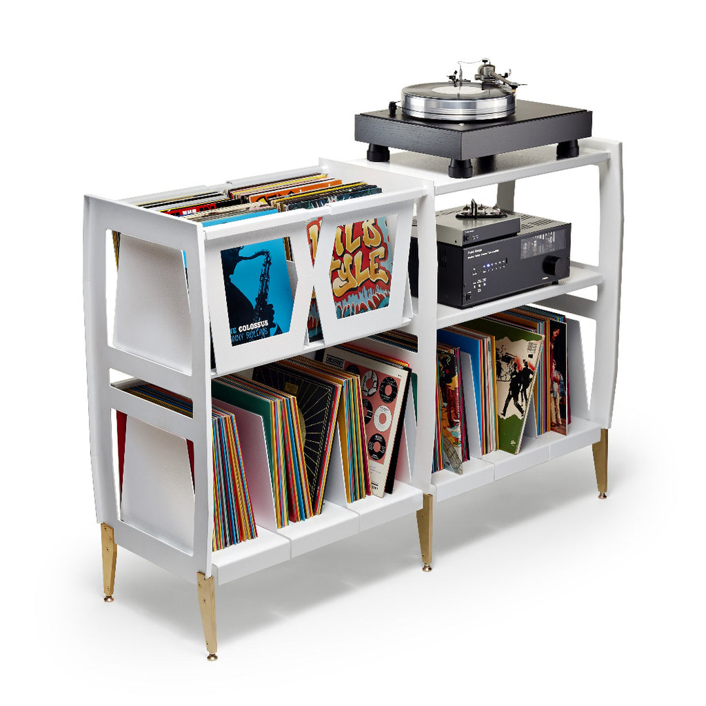 Love vinyl? meet the LPH console by Wax Rax the vinyl lover's entertainment system.