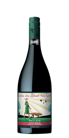 2017 Ladies Who Shoot Their Lunch Pinot Noir 75CL