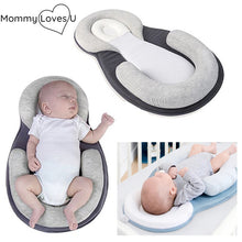 Load image into Gallery viewer, MommyLovesU™ Portable Anti-Flat Head Baby Bed