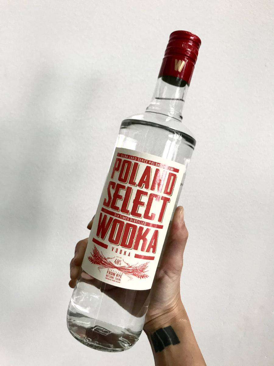Poland Select PS Vodka 750 ml