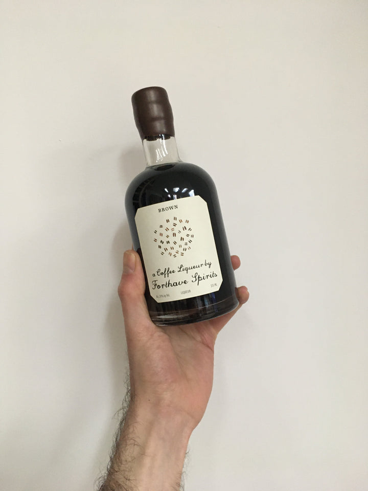 FORTHAVE SPIRITS, BROWN COFFEE LIQUOR 375ML