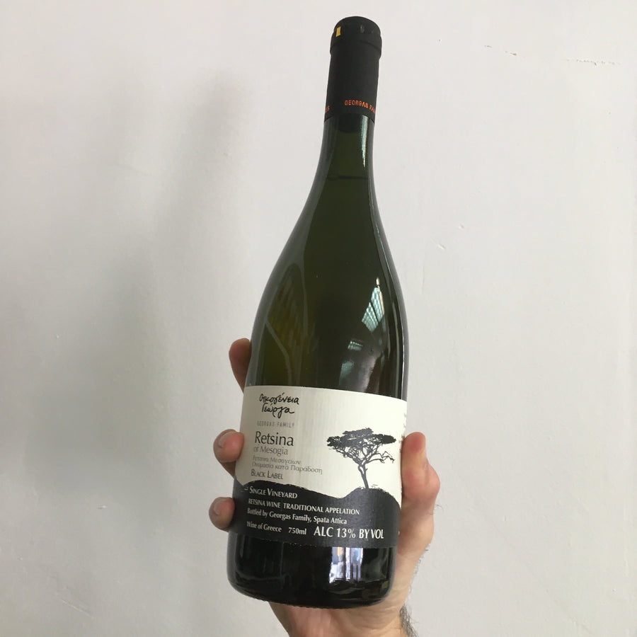 Georgas Family Retsina Black Label (2019)