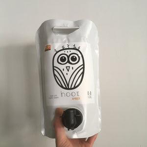 Hoot Amber Organic Pouch 1.5L