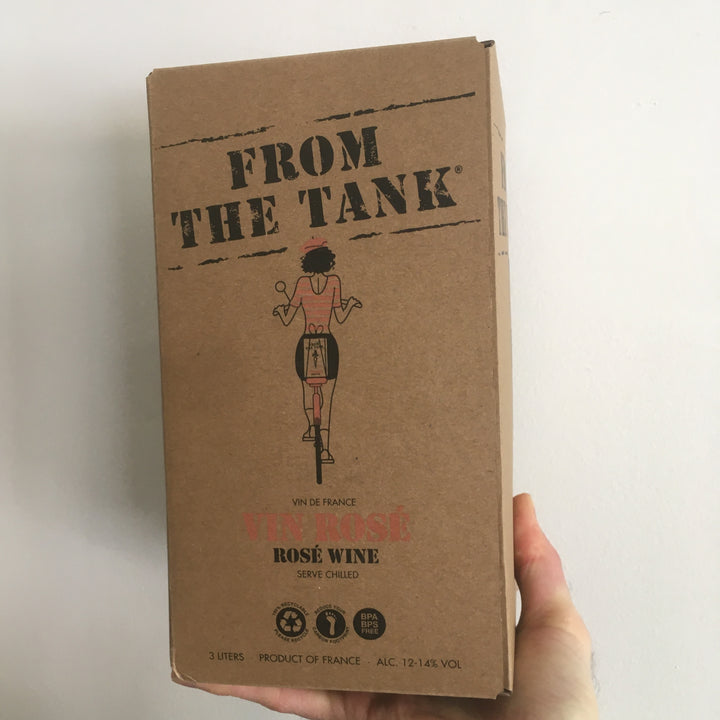 From the Tank Rosé 3L box