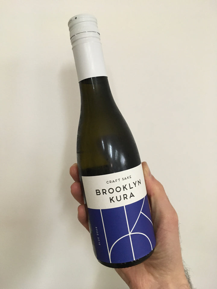 Brooklyn Kura, Blue Door Junmai Namazake (NV) · 375 mL