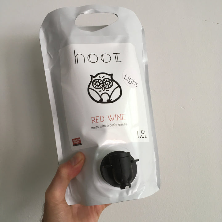 Hoot Light Red Pouch 1.5L