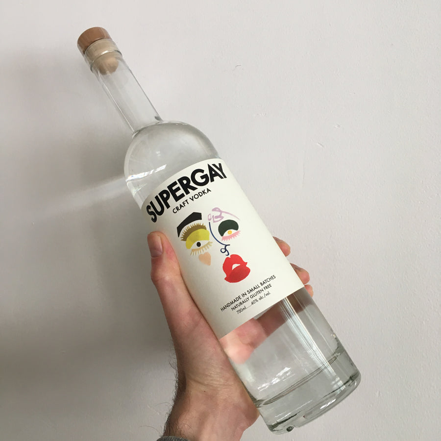 Supergay Vodka 750ml