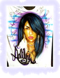C.A.F CUSTOMS  AALIYAH TRIBUTE