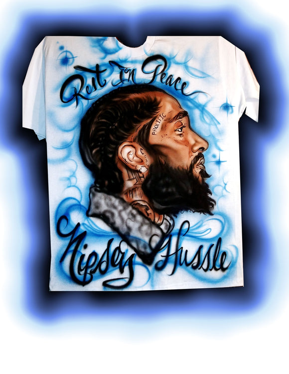 C.A.F CUSTOMS NIPSEY HUSSLE TRIBUTE