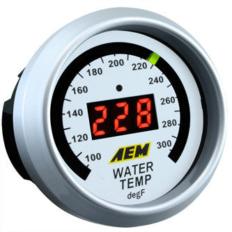 AEM Digital Oil / Water Temperature Gauge