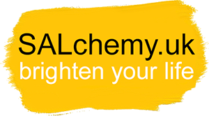 SALchemy.UK logo | brighten your life