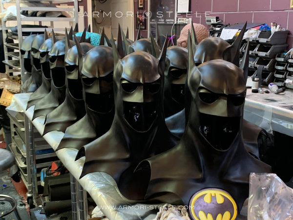 NEW: BATMAN MICHAEL KEATON SIGNED COWLS! VERY LIMITED WORLDWIDE RELEASE