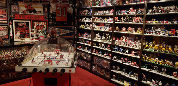 ONE OF THE GREATEST GOALIE MAN CAVES EVER?