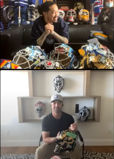 CURTIS JOSEPH X GOALIE MASK COLLECTOR | EXCLUSIVE LAUNCH