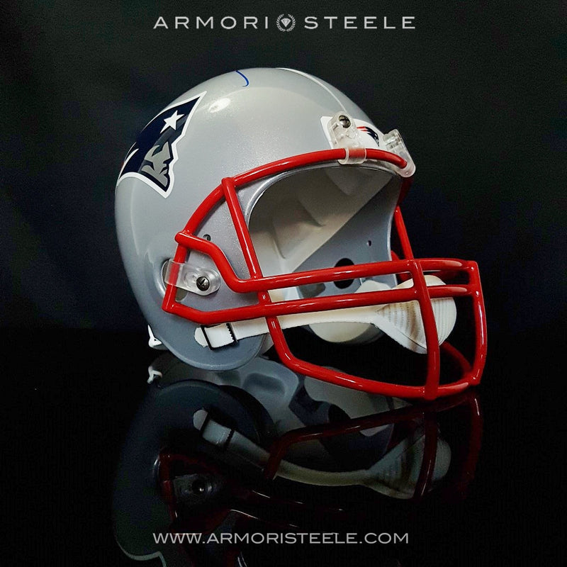 TOM BRADY SIGNED HELMET AUTOGRAPHED PATRIOTS NFL FOOTBALL COA- WAITING LIST